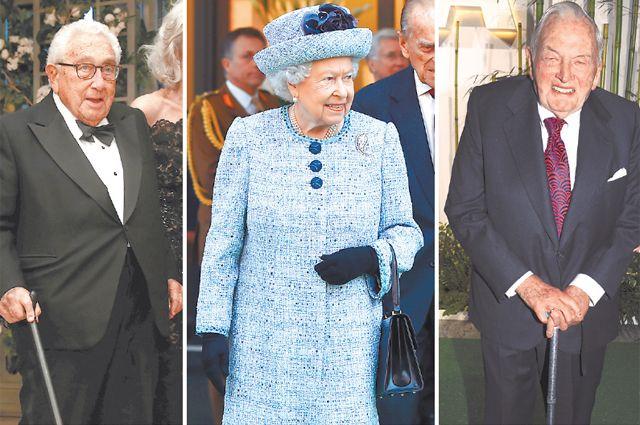 Генри Киссинджер (96 лет), Елизавета II (93 года), Дэвид Рокфеллер (умер в 101 год) - примеры того, как для сильных мира сего долголетие становится нормой жизни.