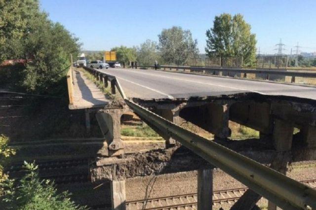 Харьковский мост, который обвалился, после ремонта откроют с ограничениями