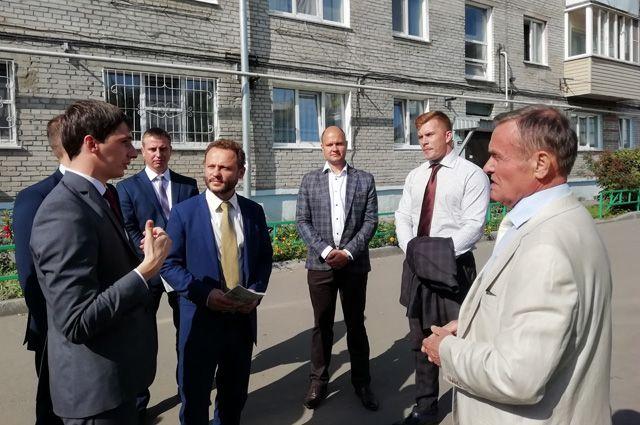 Депутат Государственной Думы Павел Федяев инспектирует объект