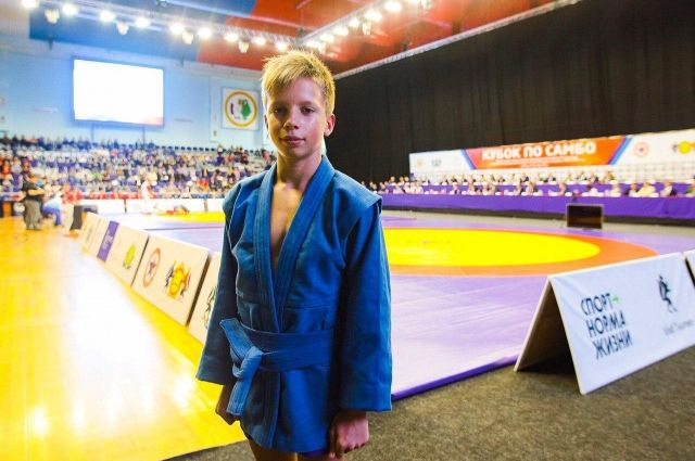 12-летний самбист из Тюмени выступает на престижных соревнованиях