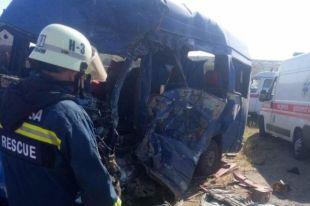 Жуткое ДТП под Одессой: двое травмированных, девять погибших