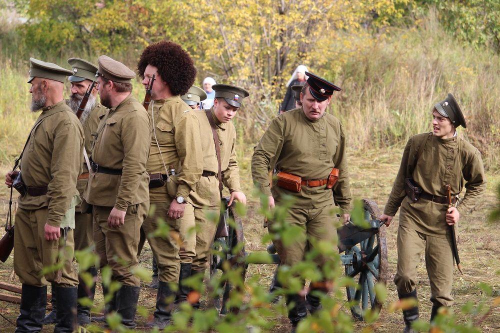 Отряд белогвардейцев захватил предместье Челябинска