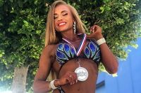 Вице-чемпионка Arnold Classic Europe 2019 в номинации BodyFitness Нина Завадская.