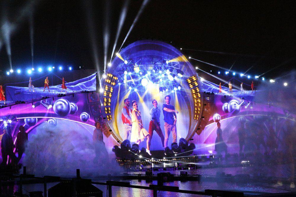 Церемония открытия международного фестиваля «Круг света» на Гребном канале «Крылатское».