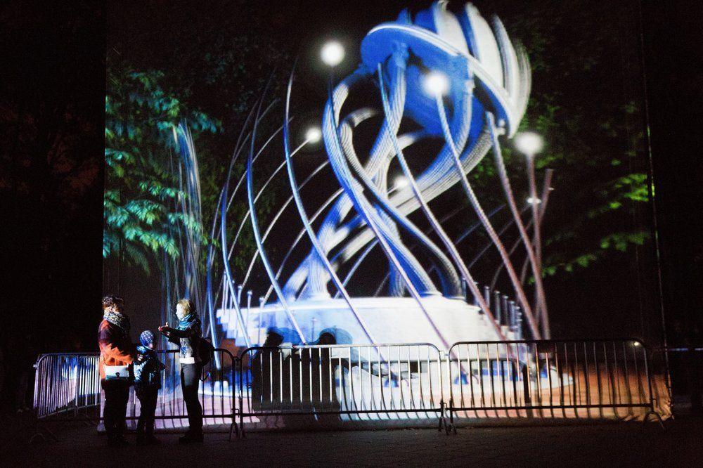 Площадка фестиваля «Круг света» на территории парка «Останкино».