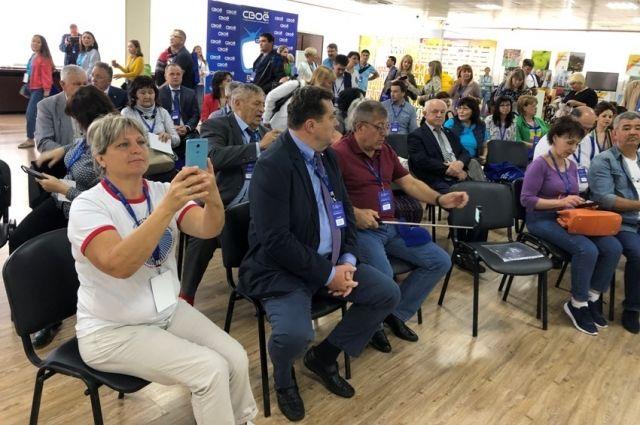 Делегация СМИ Тюменской области принимает участие в форуме «Вся Россия»