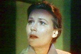 Инна Кондратьева, кадр из фильма «Два капитана» (1955).