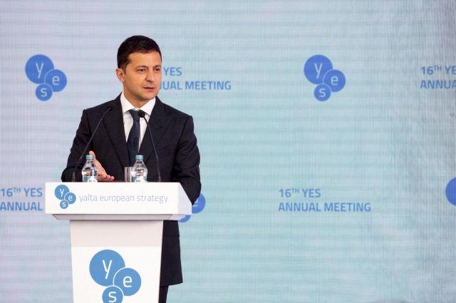Владимир Зеленский подписал закон об импичменте президента