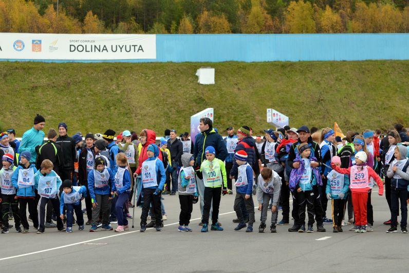 Символические 100 метров преодолели самые юные участники соревнований – дошколята.