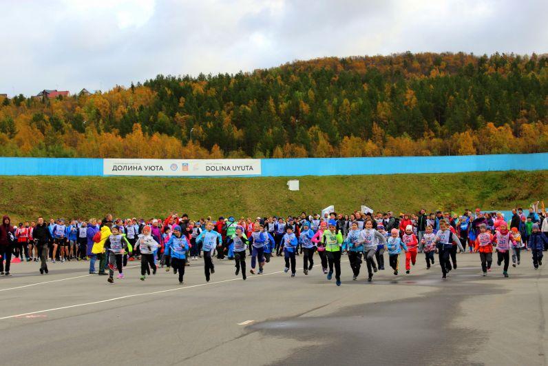 Забеги состоялись на дистанции 1, 4, 6, 8 и 12 км.
