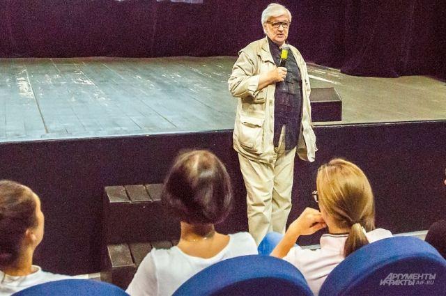 На мастер-классах о кино всегда многолюдно, но места хватает всем.