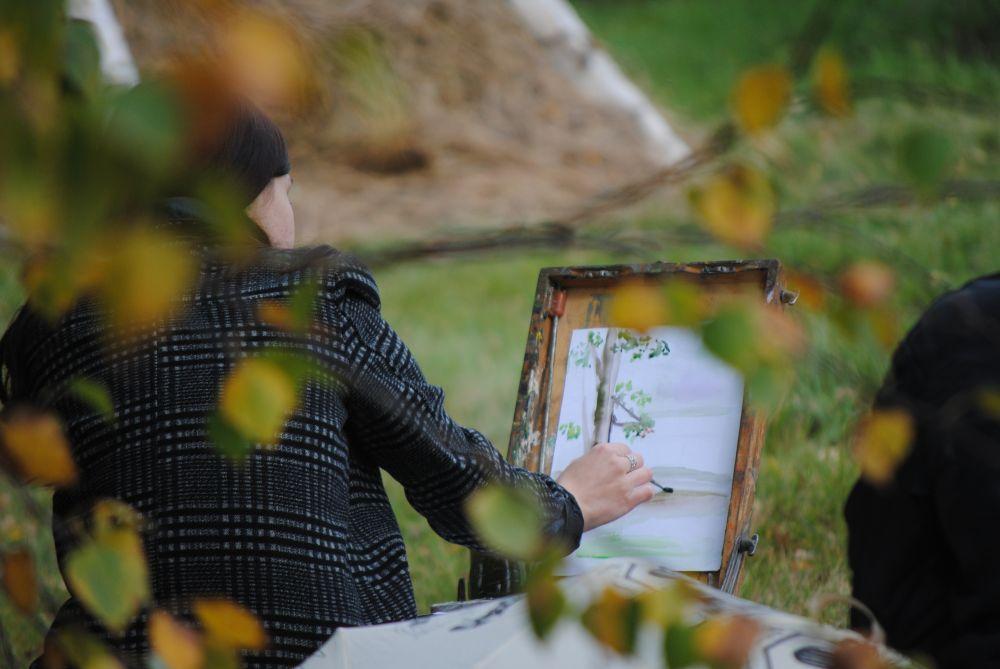 Художники любят пленэр в Аксаково.