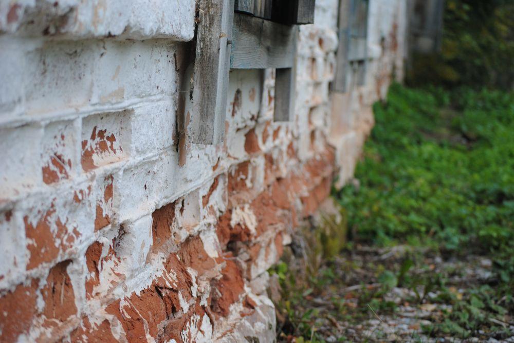 Стена дома, который охраняется законом.