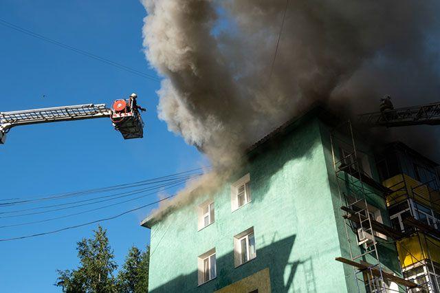 Во Владимире произошел пожар в здании драмтеатра