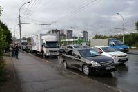 Новосибирск сковали пробки