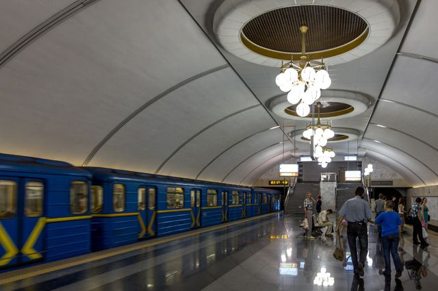 В Киевском метрополитене назвали самые загруженные станции