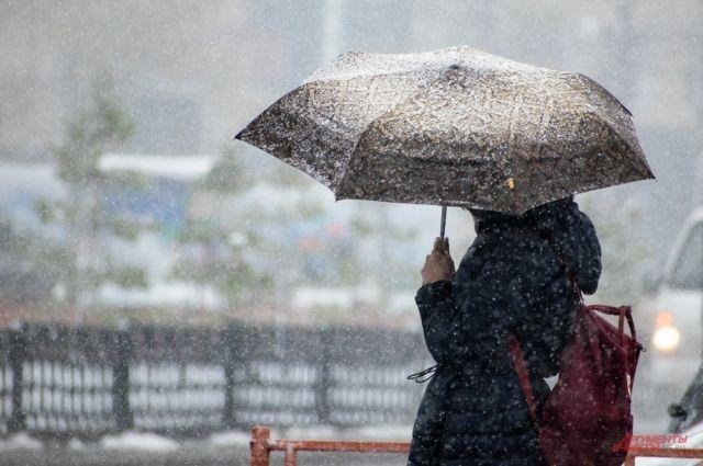 Снег и гололёд в Омске ожидаются уже завтра