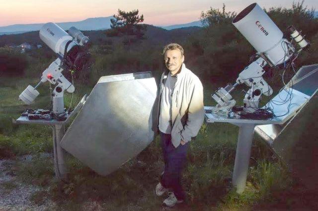 Всего астроном Геннадий Борисов открыл восемь комет