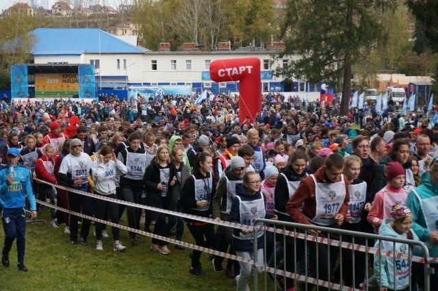 Пермский край по праву называют «самым бегущим регионом России».