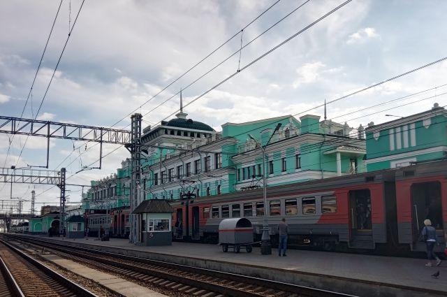 В Омске поменяют расписание пригородных электропоездов