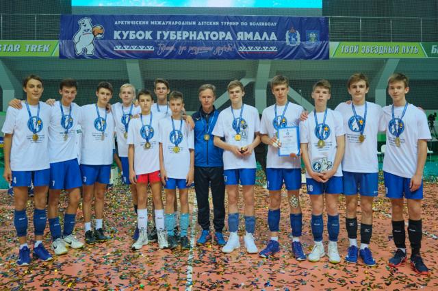 В Новом Уренгое завершился Кубок Губернатора Ямала по волейболу