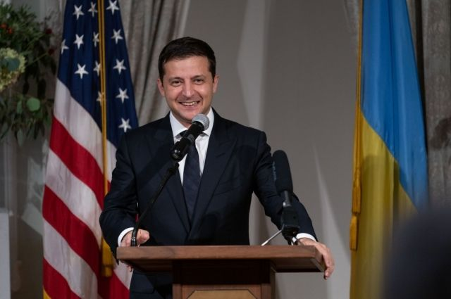 Зеленский встретился с представителями украинской общины в США