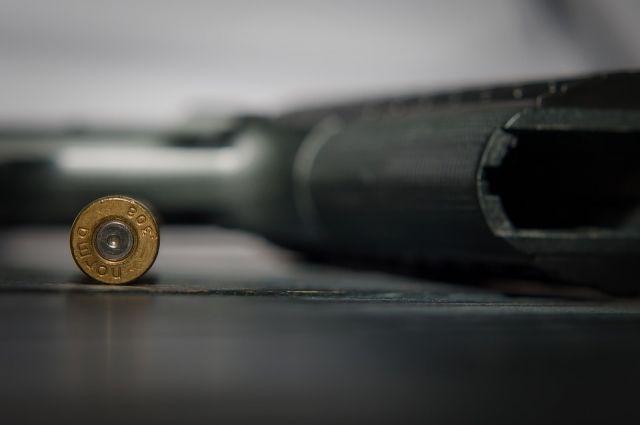 Мужчина стрелял из ружья «Сайга».