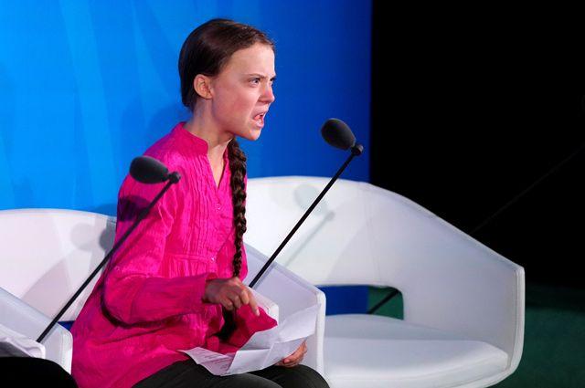 Грета Тунберг.