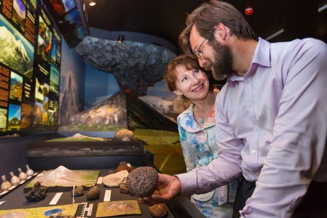Создатели музея - супруги Самойленко.