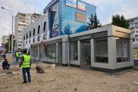 Тёплый павильон на «Рабиновича» откроют в октябре.