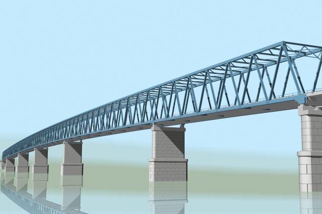 Высота самого северного моста через Енисей составит 47 метров - как 16-тиэтажный дом.