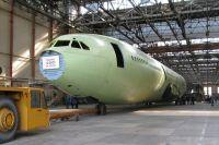 На заводе уже собрали корпус нового Ил-96-400М.