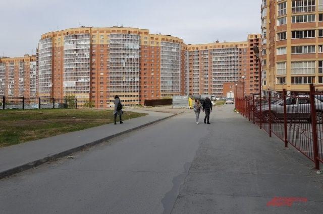 Жители отдают предпочтение просторным квартирам.
