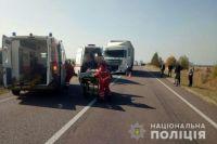 Тройное ДТП на Волыни: погибло два человека, шестеро травмировались