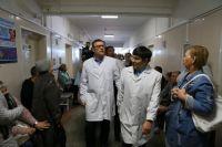 Состоянию Агаповской районной больницы глава региона дал достаточно резкую оценку.