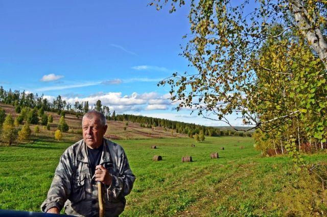 Потеря зрения сильно осложнила жизнь пенсионера.