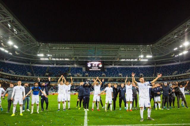 «Балтика» одержала победу над московским «Локомотивом»