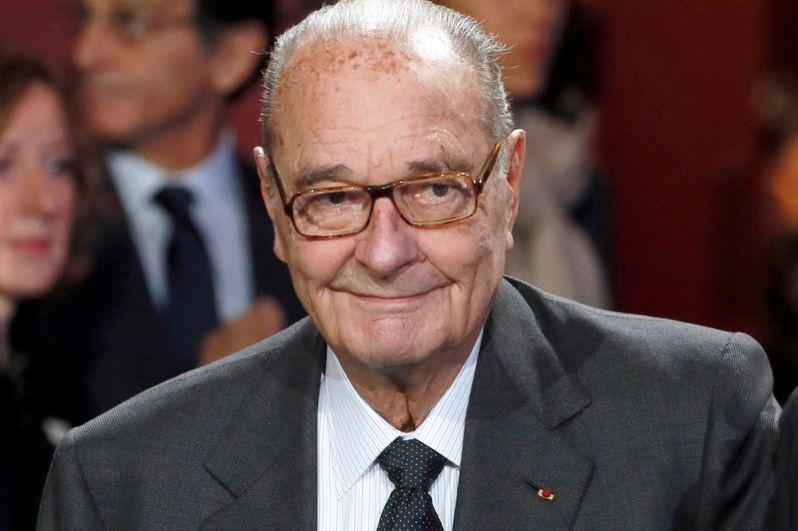 Бывший президент Франции Жак Ширак, 2014 год.