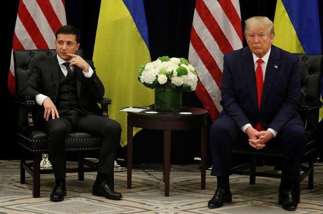 Владимир Зеленский и Дональд Трамп.