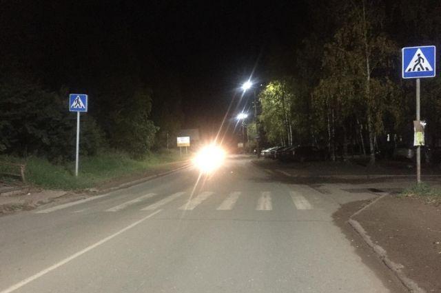 В Воткинске водитель сбил подростка и скрылся