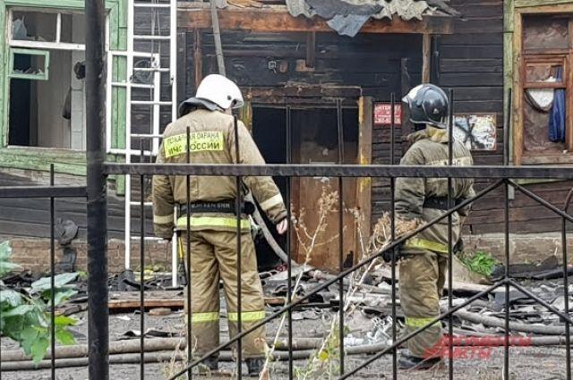 Тела погибших обнаружили при тушении пожара.