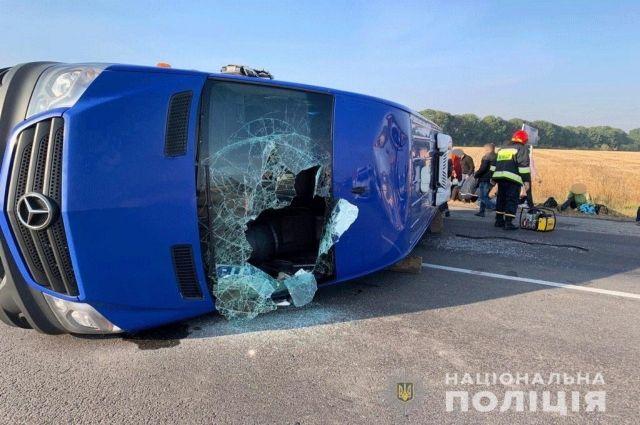 ДТП в Черкасской области: пострадали пять человек