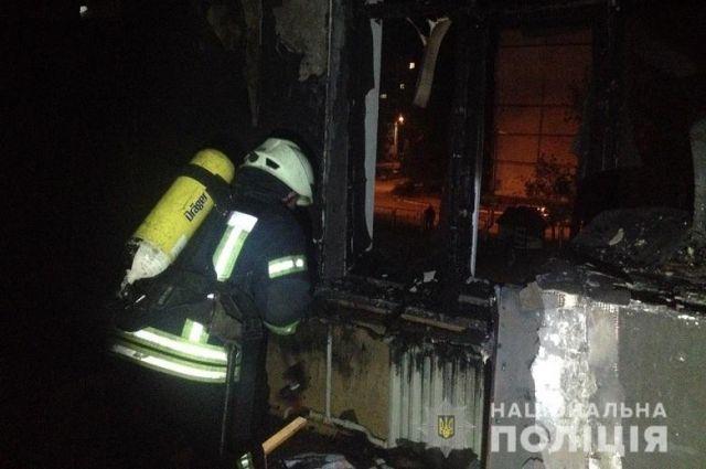 ЧП в Киеве: неизвестные подожгли детский сад