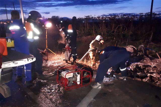 Медосвидетельствование показало, что водитель автомобиля Lexus сел за руль пьяным.