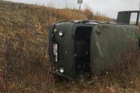 В ДТП на автодороге Коротчаево – Тазовский пострадал водитель УАЗа