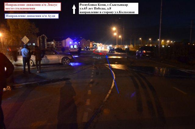 Страшная авария произошла 21 сентября на дороге в местечке Чит, возле многоквартирных домов.