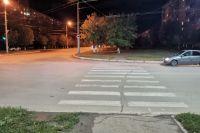 Видео с места смертельного ДТП на ул. Салмышской в Оренбурге.