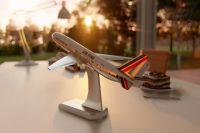 Самолет должен был приземлиться в пункте назначения в 8.05 по местному времени, однако из-за снегопада пилотам пришлось нарушить расписание.