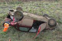 Водитель одного из автомобилей нре выдержал безопасную дистанцию.