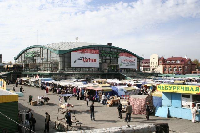 Как раньше выглядел Старый базар
